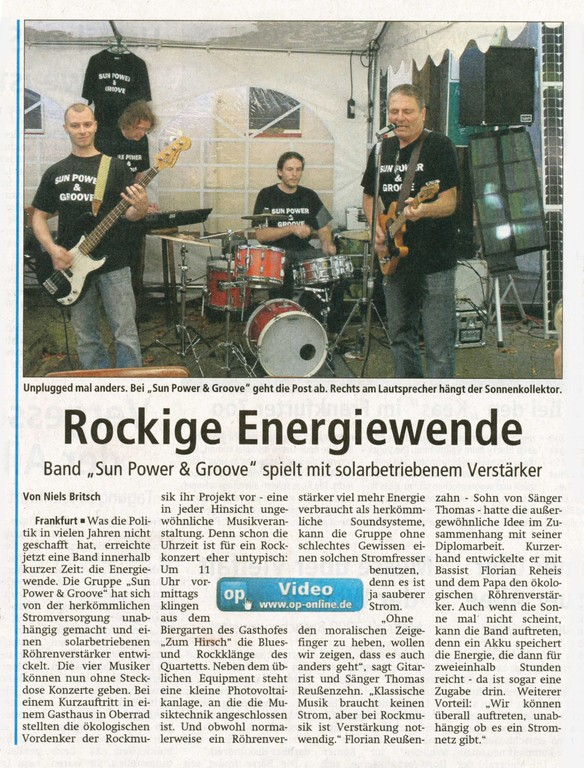 Offenbach Post, 30. September 2011