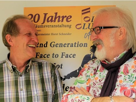 Zwanzig Jahre Oldie-Club: Günter Doll und Wolfgang Boltes (rechts) erinnern sich noch an die Anfänge