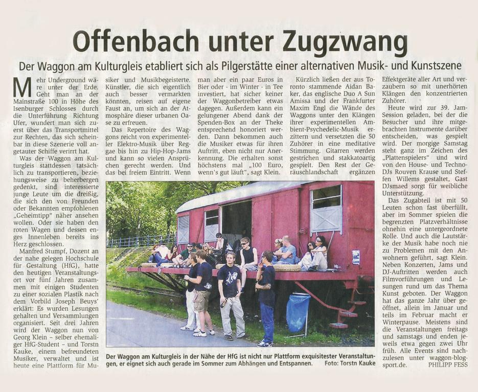 Offenbach Post, 24. Februar 2012