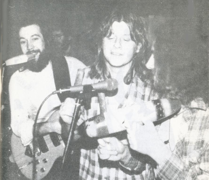 Auftritt im Bessunger Forst am 5. Januar 1980