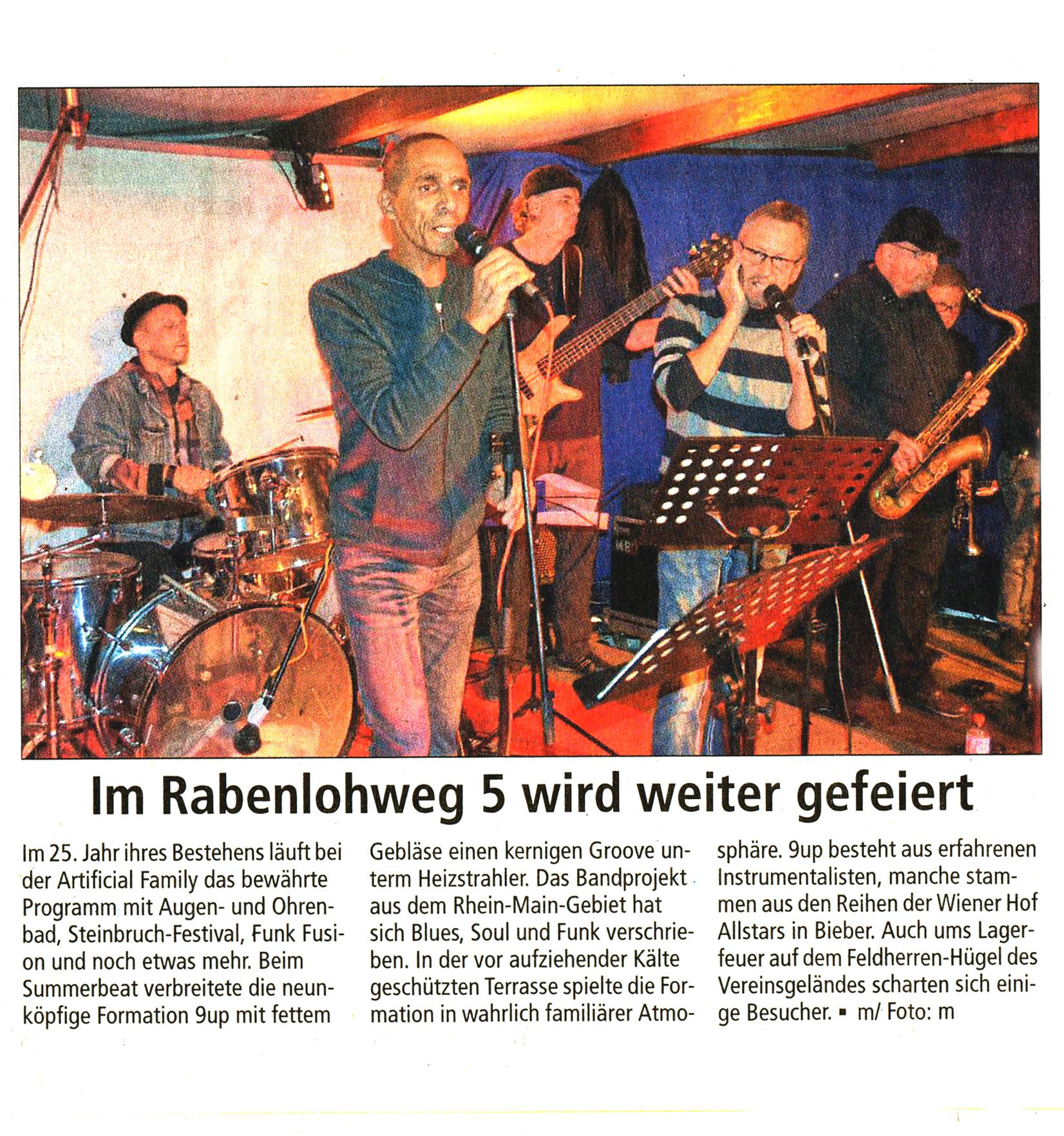 Offenbach Post, 13. Oktober 2017