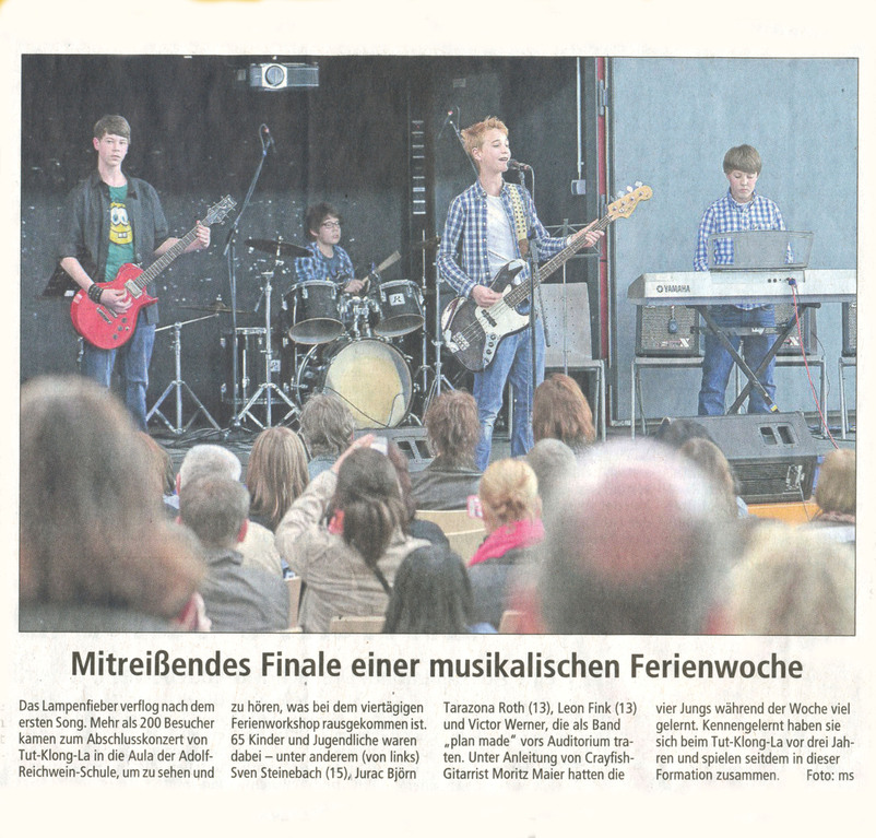 Offenbach Post, 17. April 2012