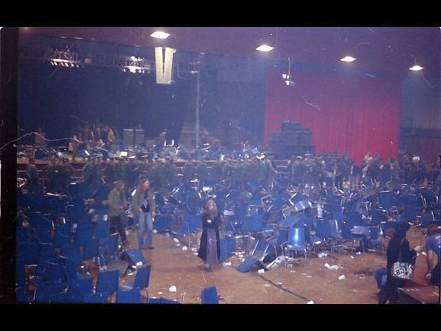 Nach dem Konzert von Lou Reed 1979 (Foto: Heidi Tremmel)