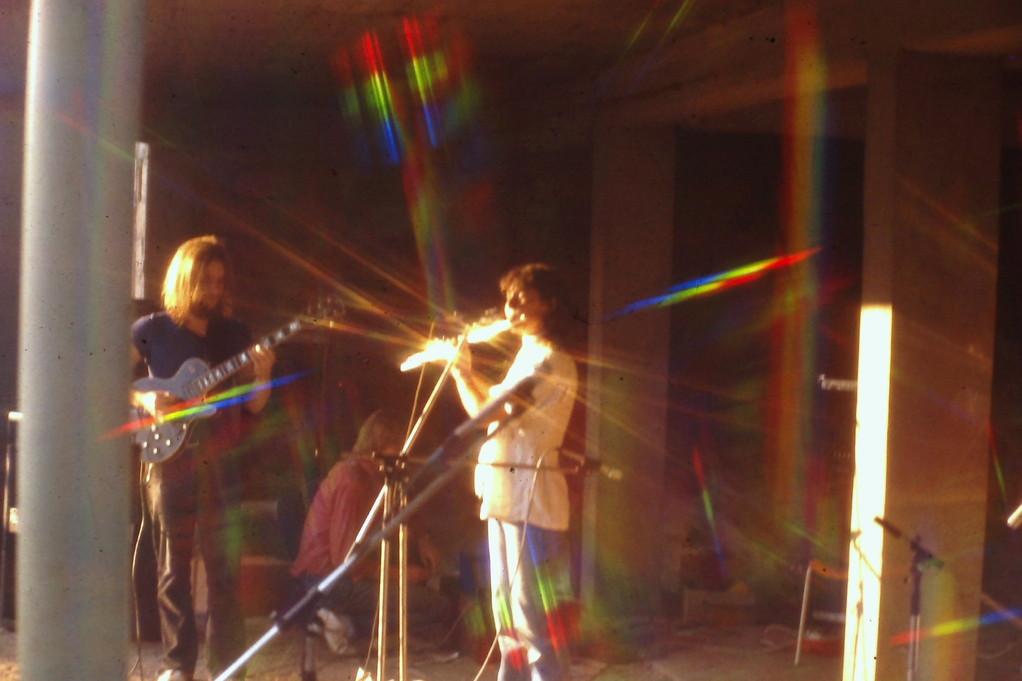 Thomas Hegner & Doris Assenheimer (Erster Auftritt nach der Umbesetzung 1982 - Bootshaus Bürgel)