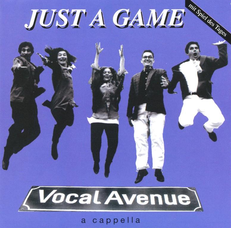 """CD-Cover """"Just A Game"""" (aufgenommen im Ocean-Tonstudio von Peter Kunz-von Gymnich, Februar & März 1997"""