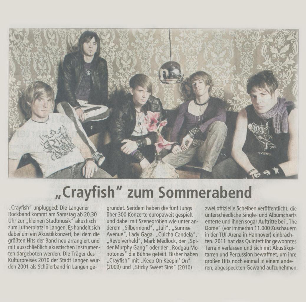 Offenbach Post, 13. Juli 2013