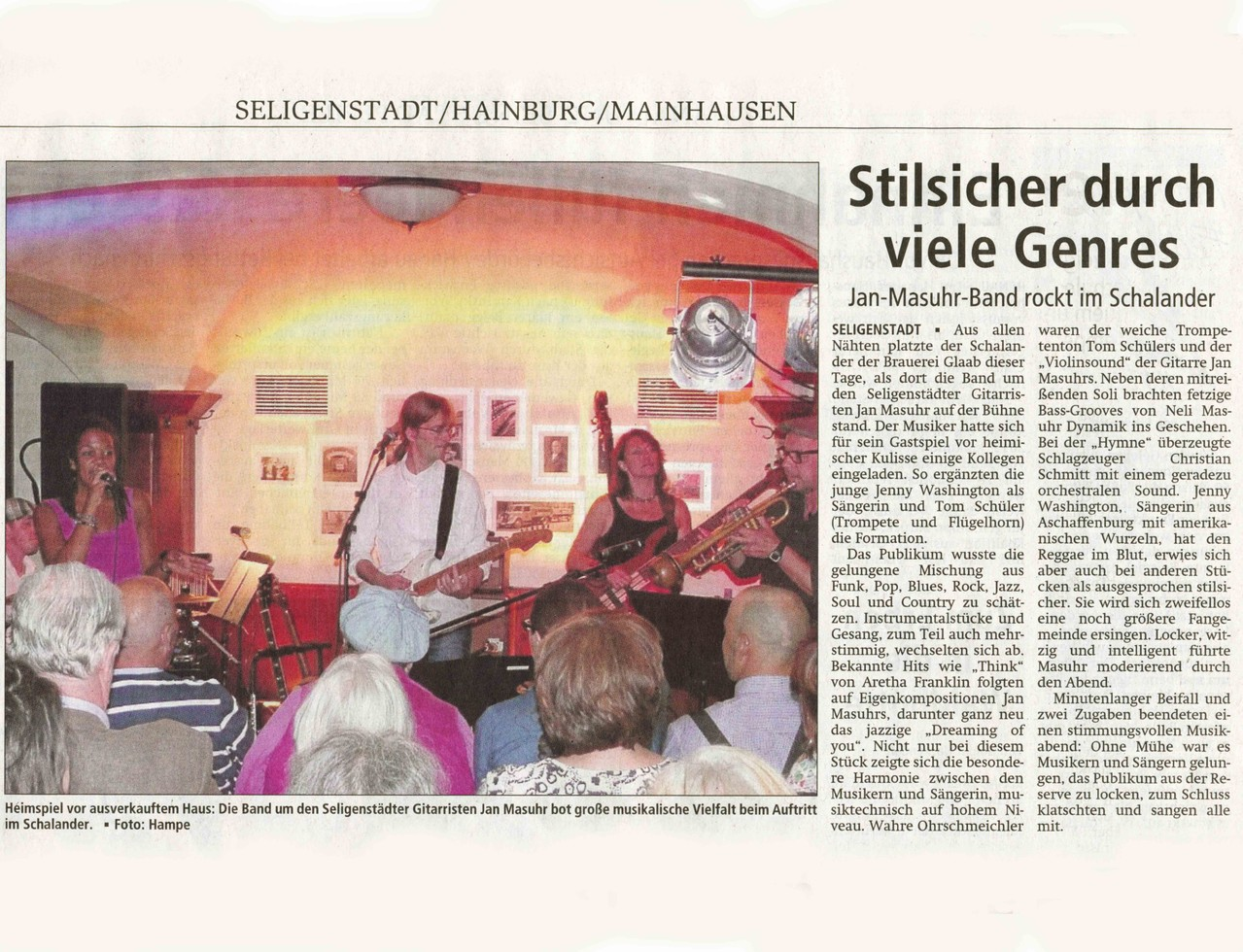 Offenbach Post, 24. September 2012