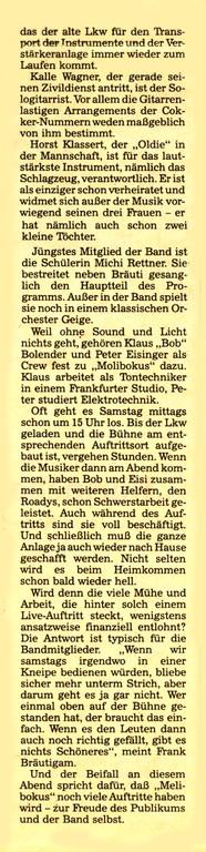 Artikel Offenbach Post, 15. Juni 1991, Teil 3