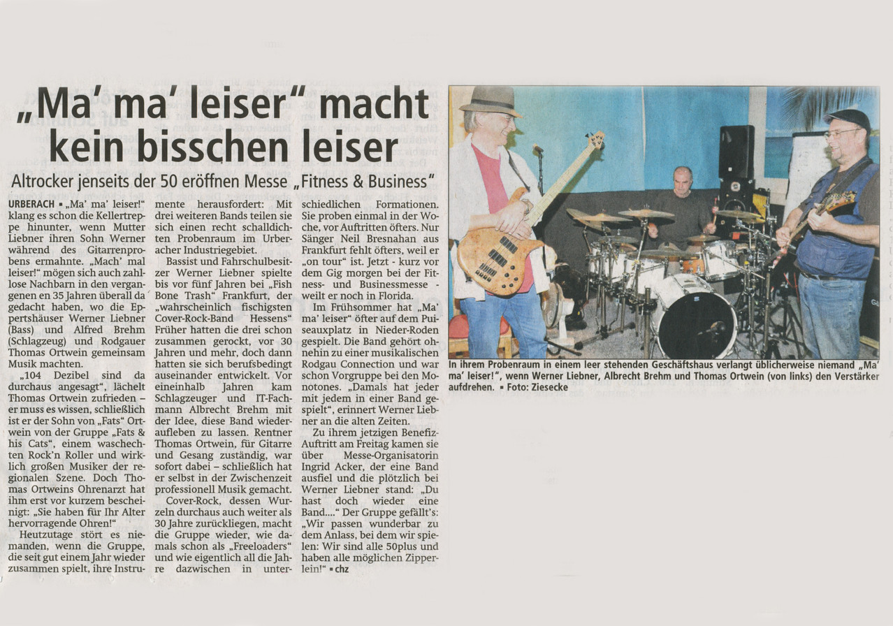 Offenbach Post, 13. September 2012