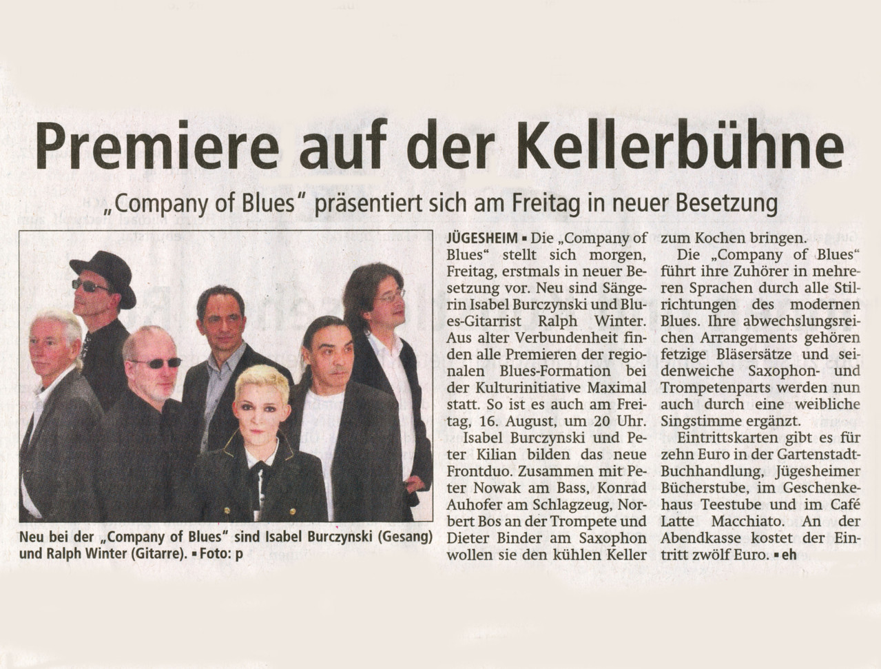 Offenbach Post, 15. August 2013