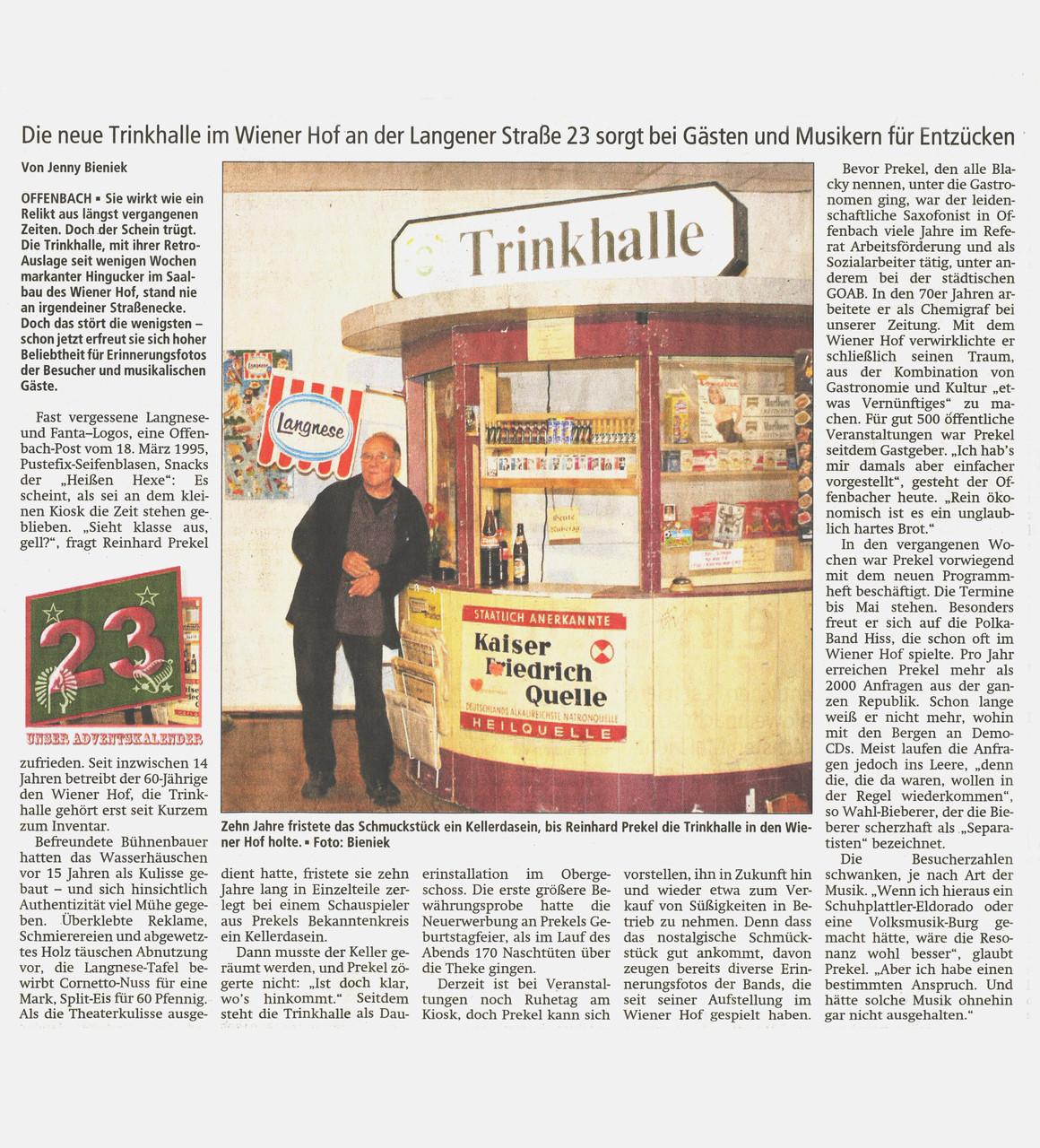 Offenbach Post, 23. Dezember 2014