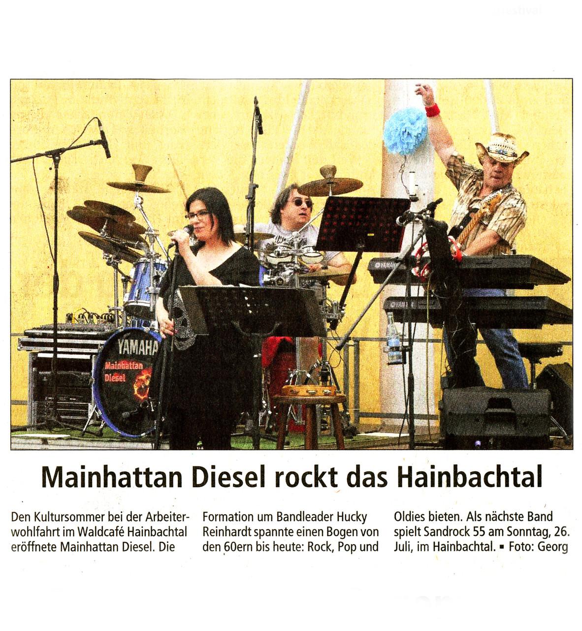 Offenbach Post, 9. Juni 2015
