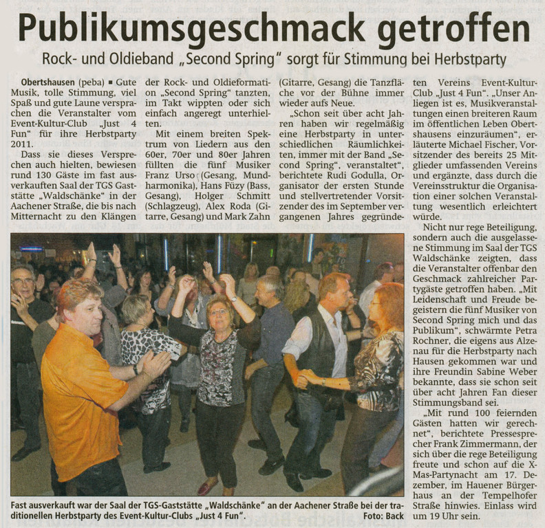 Offenbach Post, 8. November 2011