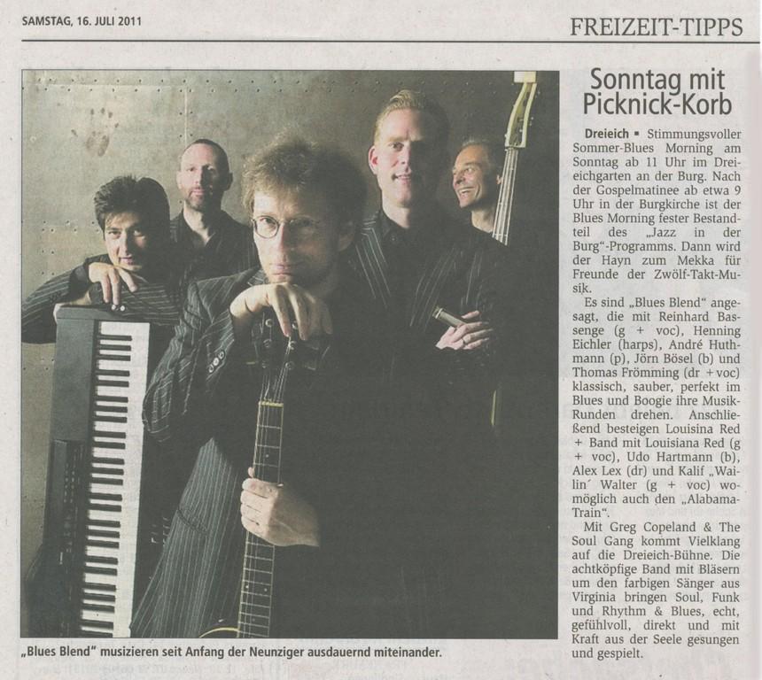 Offenbach Post, 16. Juli 2011
