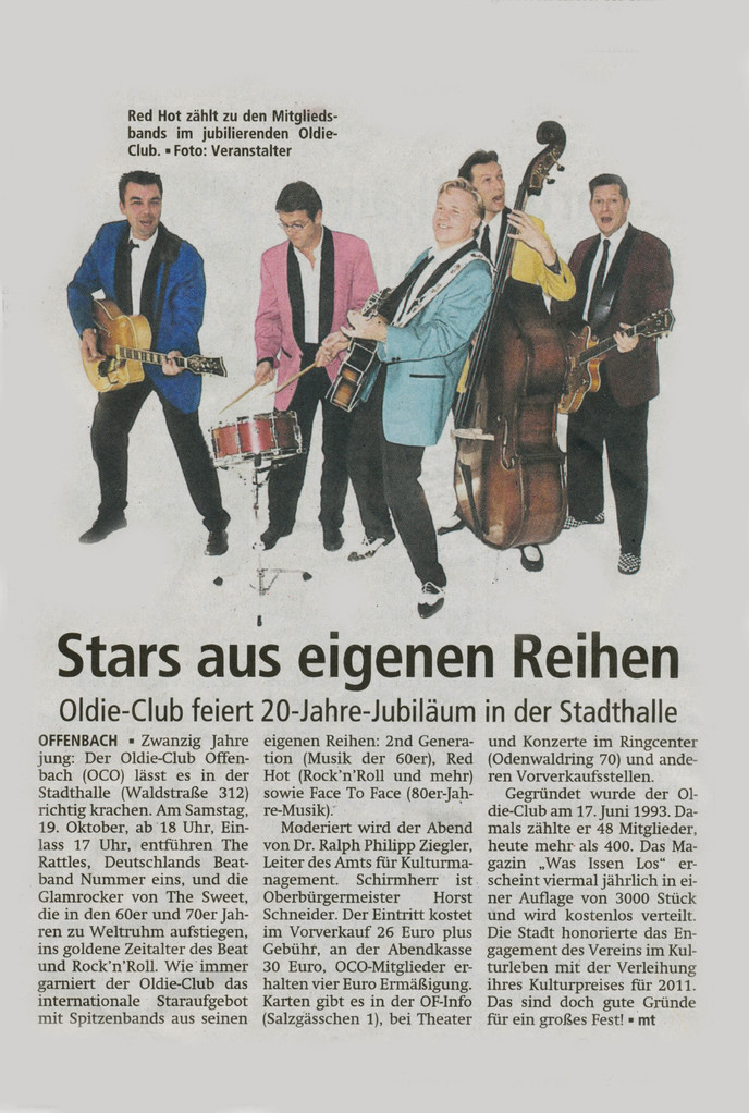 Offenbach Post, 15. Oktober 2013