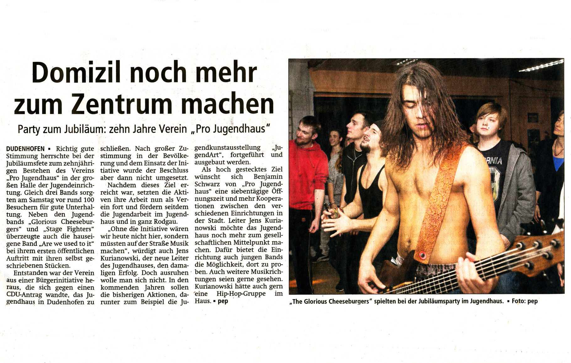 Offenbach Post, 19. November 2014