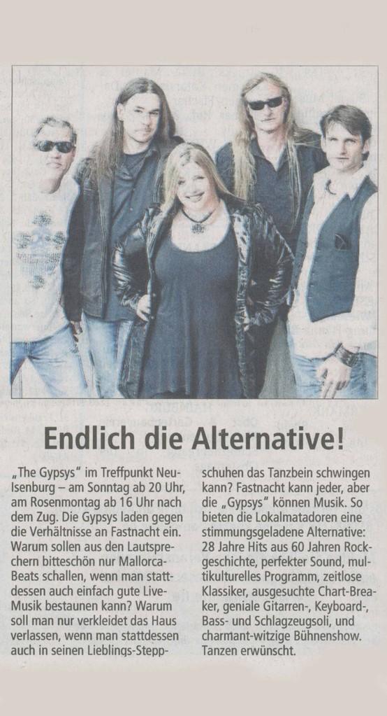 Offenbach Post, 9. Februar 2013