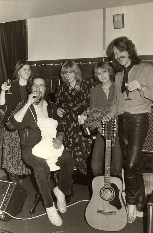 v.l.n.r.: Mercedes Pfaff, Mick Grosse, Rosi Grosse, Claudia Rudel, Bodo Ziegler