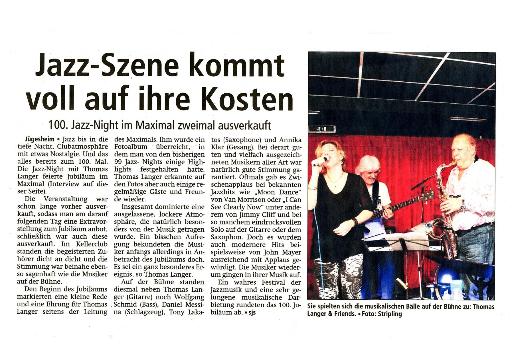 Offenbach Post, 11. Februar 2014