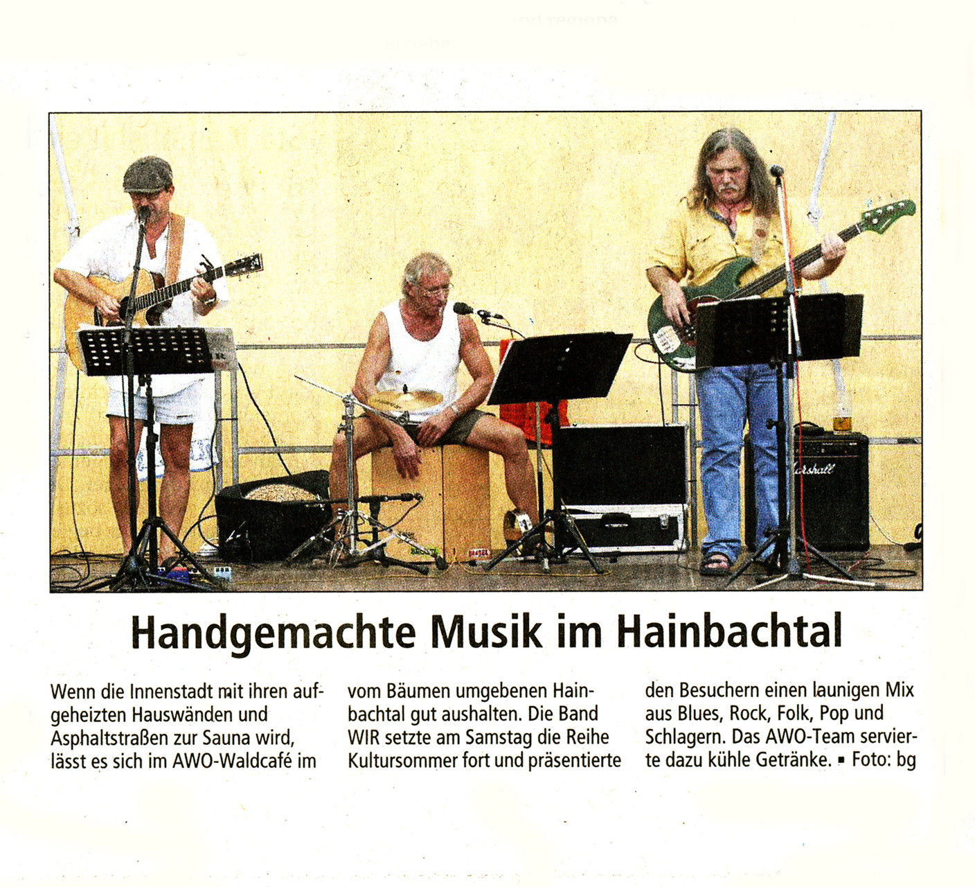 Offenbach Post, 10. August 2015