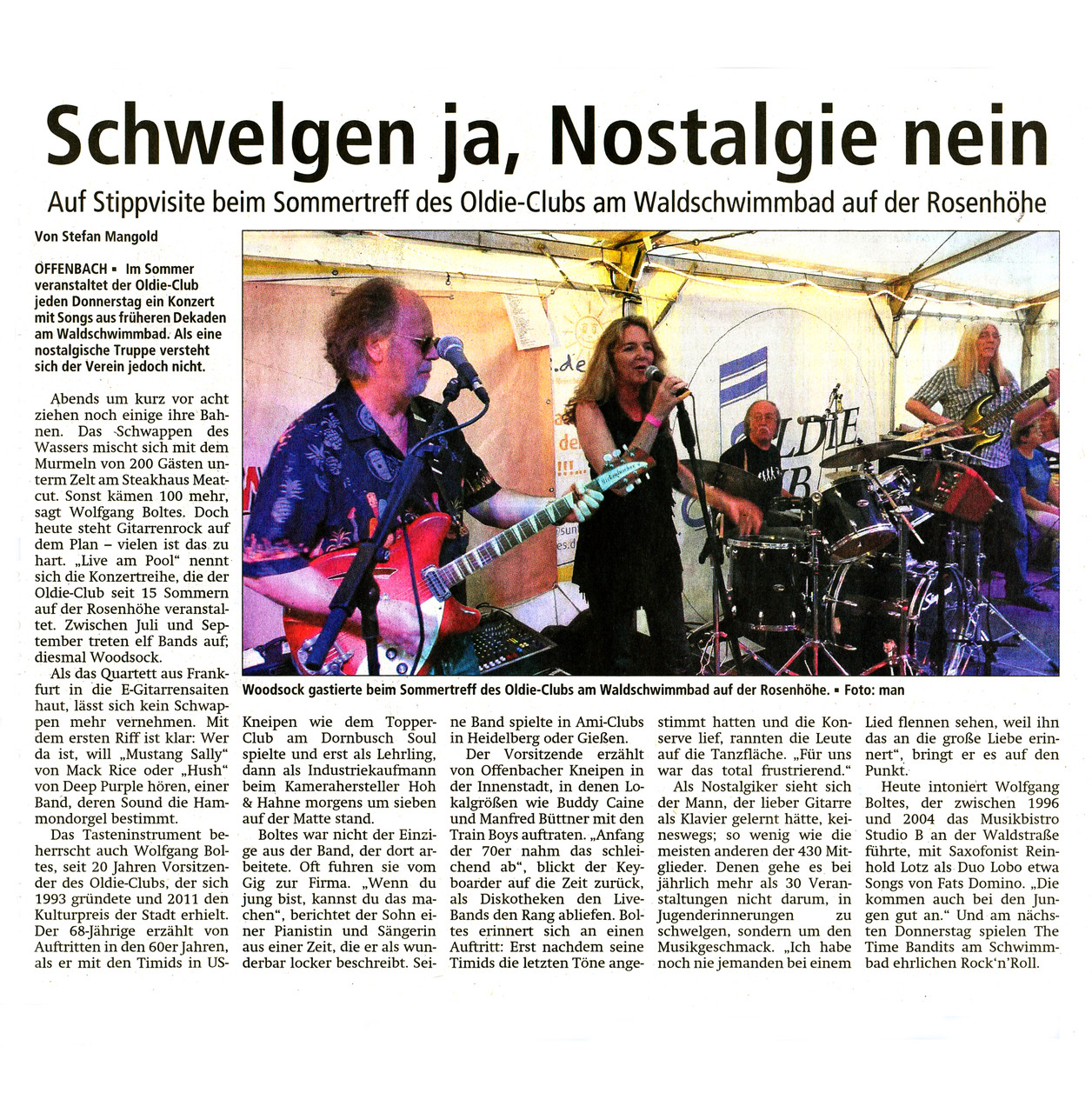 Offenbach Post, 1. August 2015
