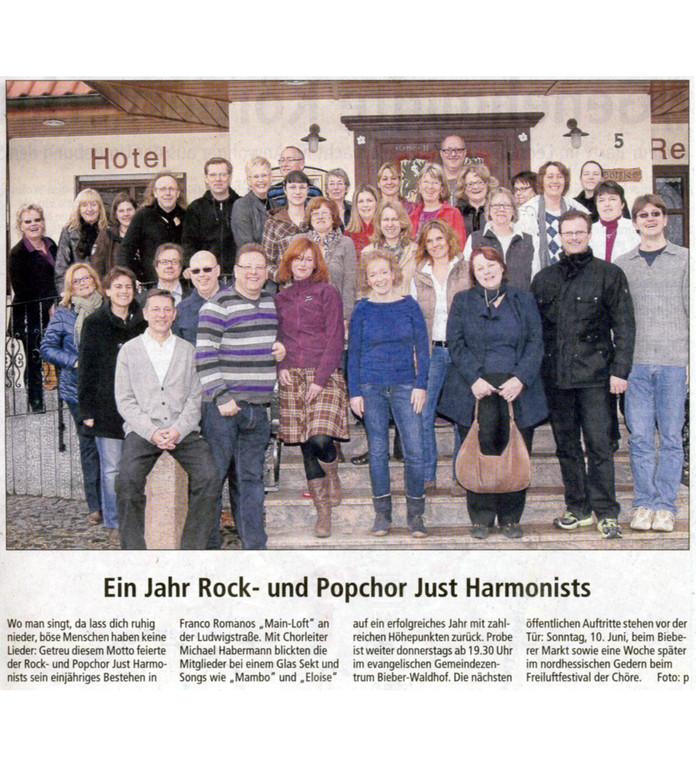 Offenbach Post, 22. Mai 2012