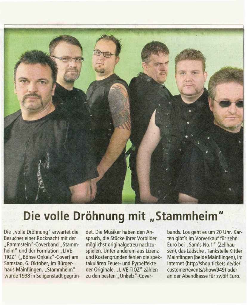 Offenbach Post, 29. September 2012