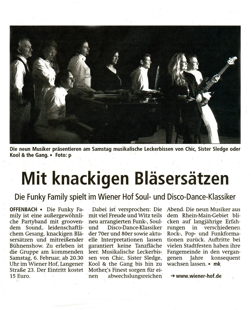 Offenbach Post, 3. Februar 2016