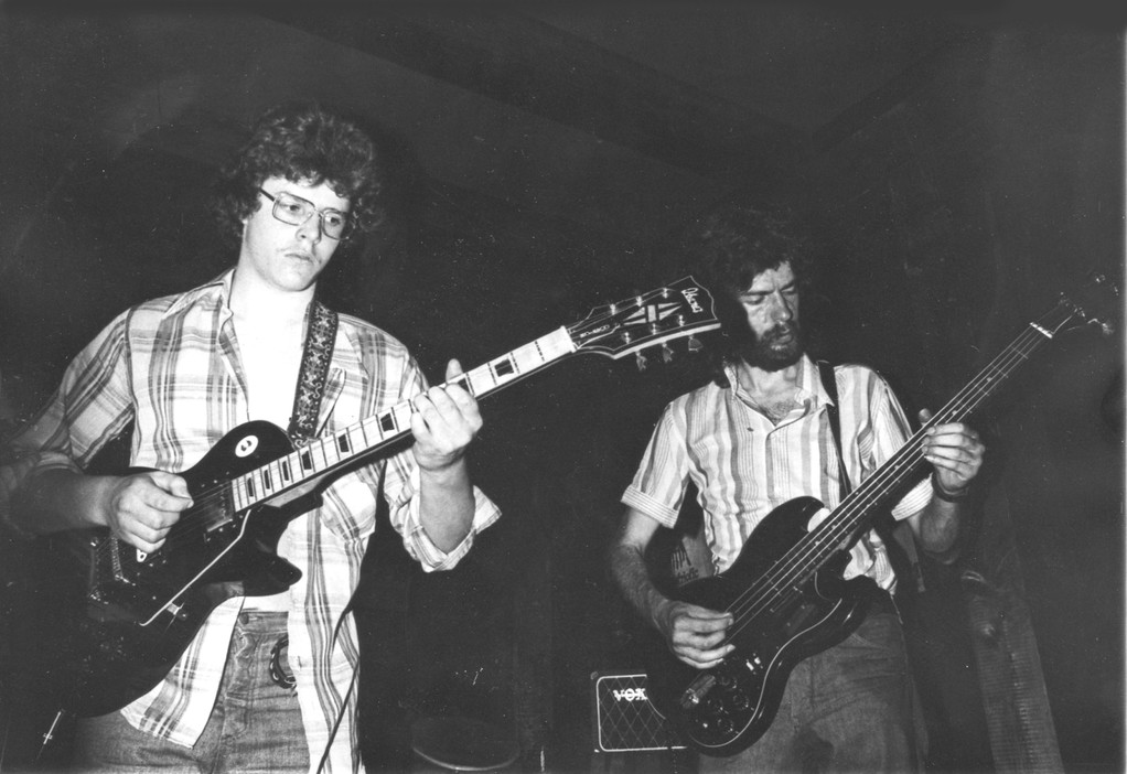 Udo Lenz (rechts) und Gerhard Lux (links)