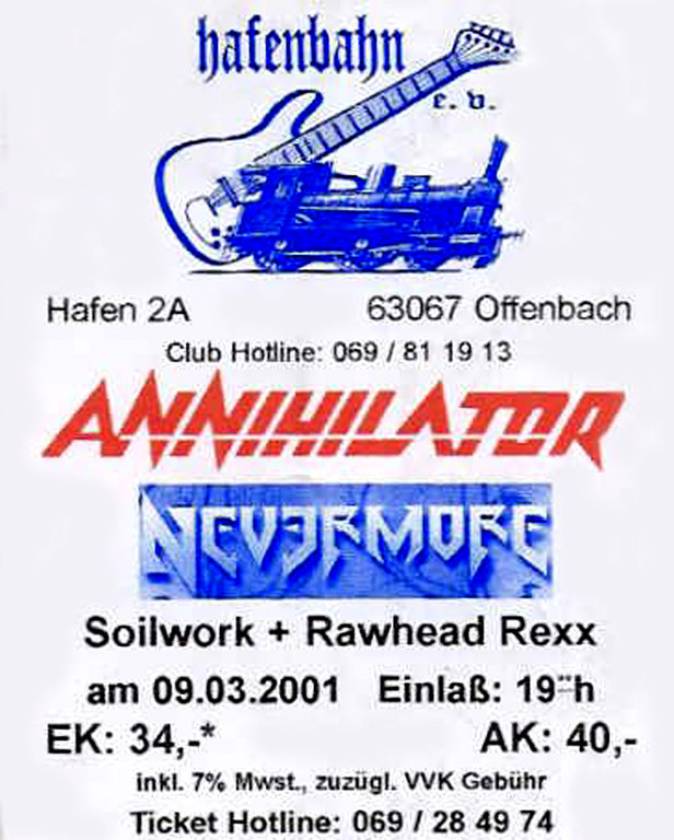 Flyer 2001