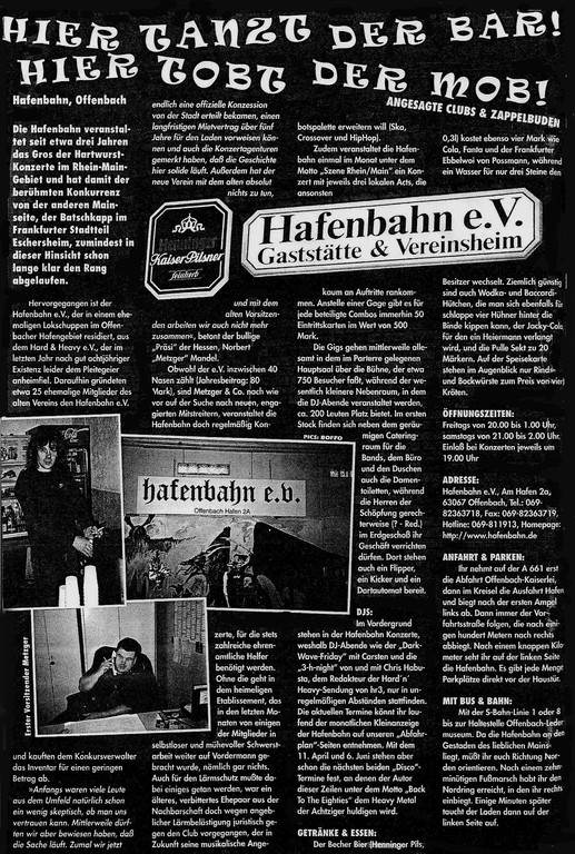 "Artikel ""Rock Hard"""