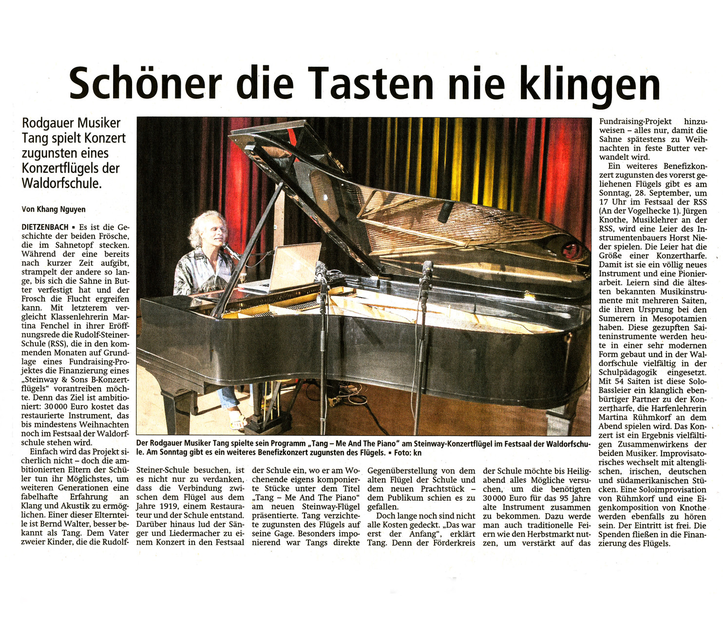 Offenbach Post, 24. September 2014