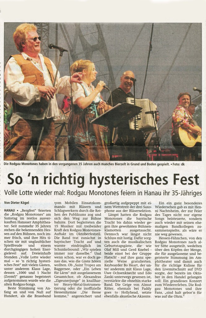 Offenbach Post, 26. August 2013
