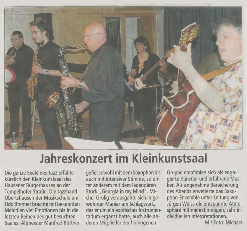 Offenbach Post, 13. April 2011