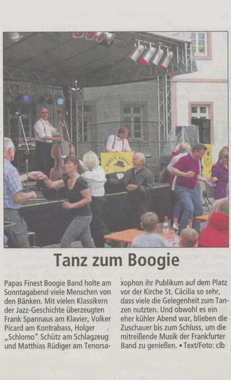 Offenbach Post, 29. August 2012
