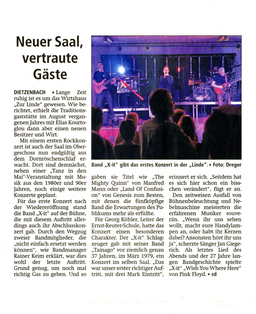 Offenbach Post, 22. März 2016
