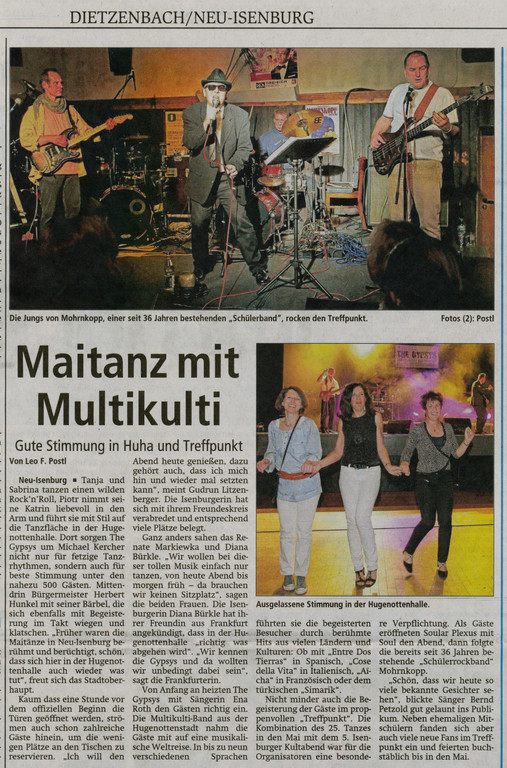 Offenbach Post, 2. Mai 2011