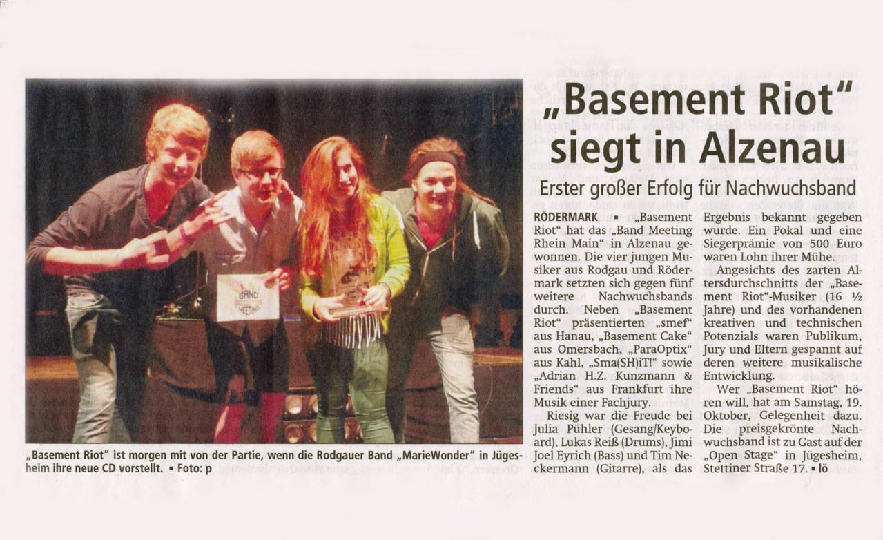 Offenbach Post, 18. Oktober 2013