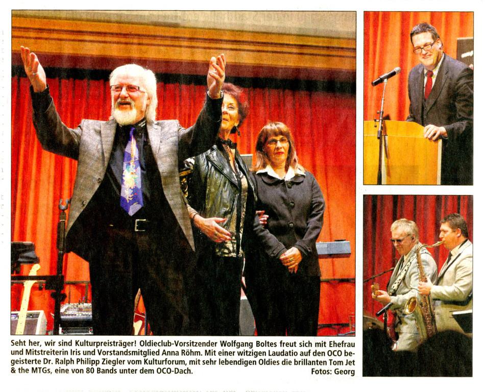 Offenbach Post, 20. Januar 2012