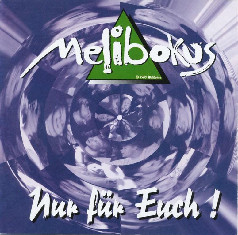 """CD-Cover """"Nur für Euch!"""", aufgenommen im City Music Studio Offenbach, Juli 1996"""