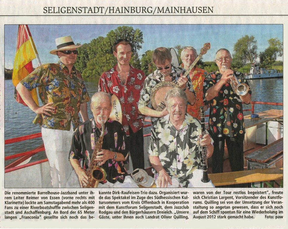 Offenbach Post, 22. August 2011