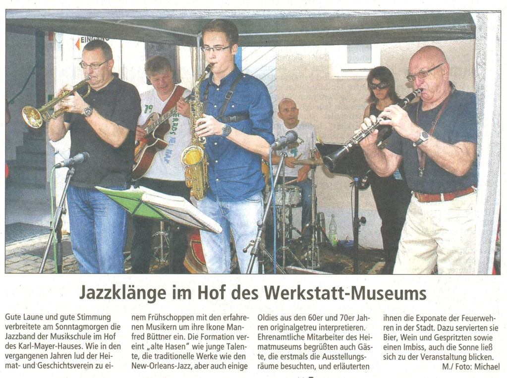 Offenbach Post, 15. August 2011