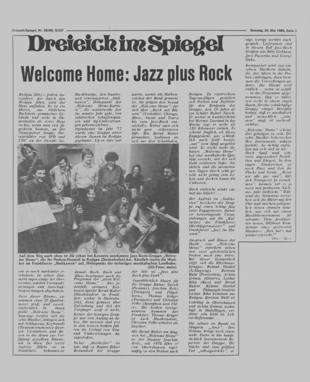 Dreieich im Spiegel, 24. Mai 1980