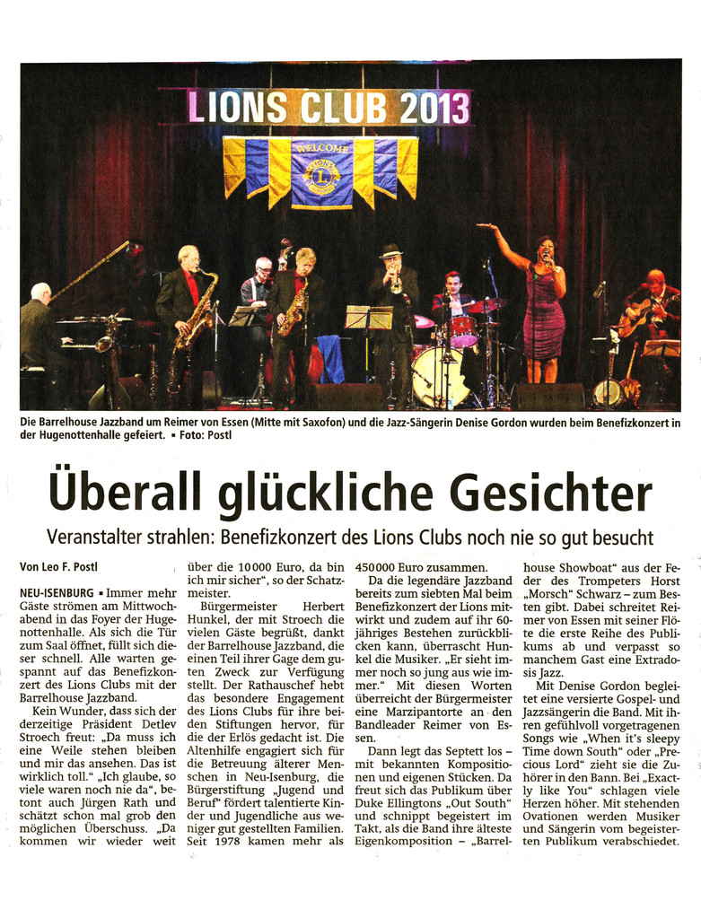 Offenbach Post, 15. November 2013