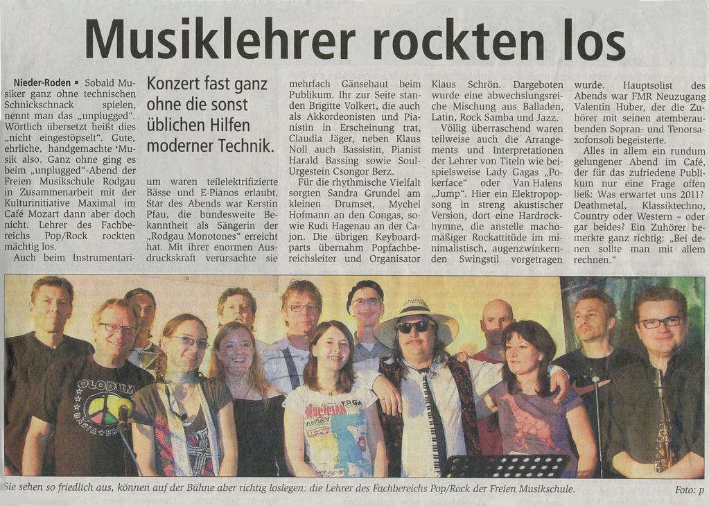 Rodgau Presse, 13. Mai 2010
