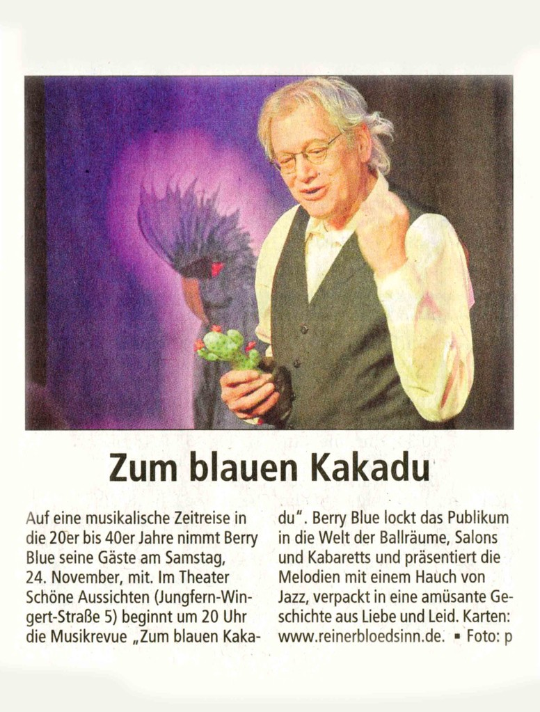 Offenbach Post, 14. November 2012
