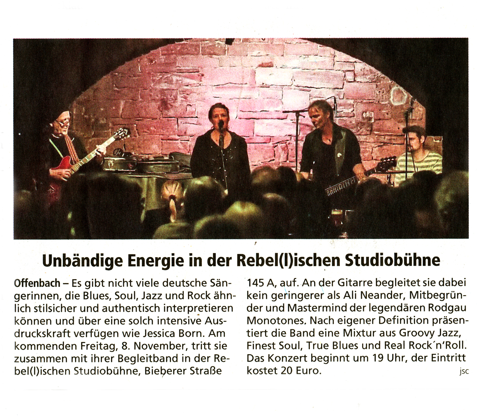 Offenbach Post, 7. November 2019
