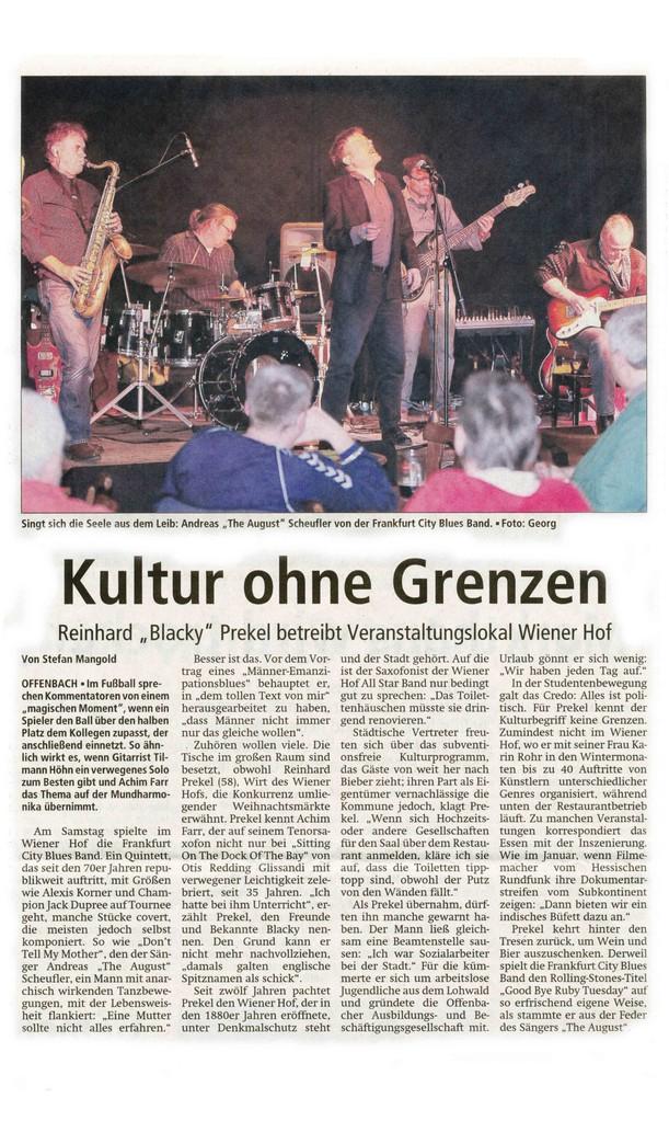 Offenbach Post, 4. Dezember 2012