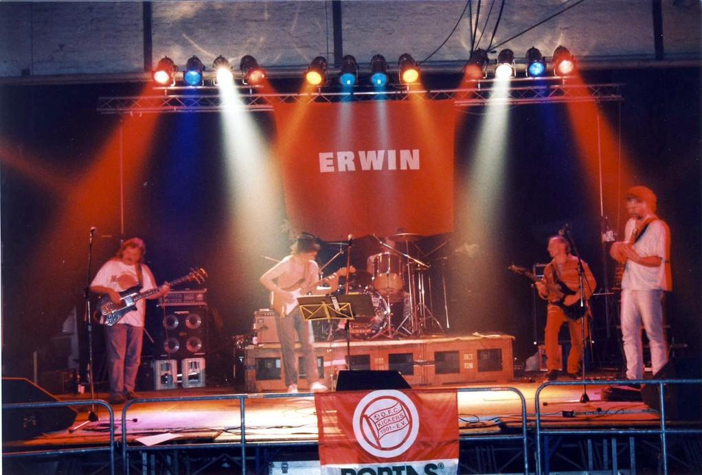 """1997 bei der """"Hier spricht der Bieberer Berg""""-CD-Release-Party"""