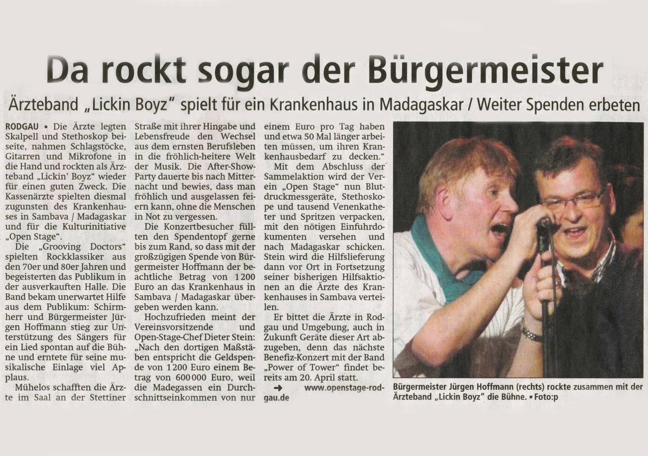 Offenbach Post, 5. Februar 2013